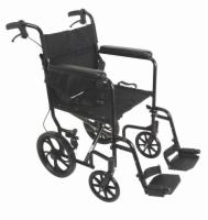 Probasics Aluminum Transport Chair with Large Wheels
